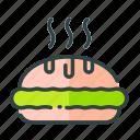 beverage, food, pie, restaurant, unhealthy icon