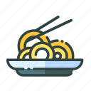 beverage, food, restaurant, spaghetti, unhealthy icon
