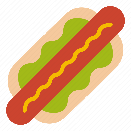 Food, hotdog, sandwich, sausage icon - Download on Iconfinder