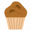 bakery, cupcake, dessert, muffin