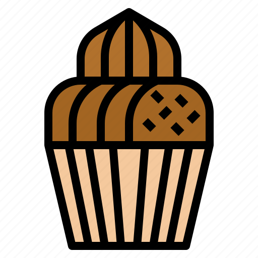 bakery, cake, cup, dessert, sweet icon