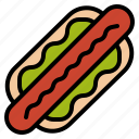 food, hotdog, sandwich, sausage icon