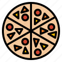 fast, food, italian, pizza icon