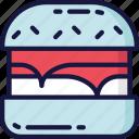 burger, eating, fast food, lettuce, takeaway