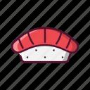 fast, food, japanese, sushi
