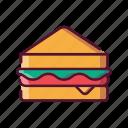 fast, food, sandwich, breakfast