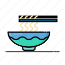fast, food, meal, noodles icon