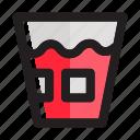 cola, drink, glass, ice tea, juice, soda, soft drink icon