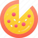 eating, fast food, pizza, pizza slice, take away icon