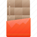 bar, candy, chocolate, eating, fast food, sweets icon