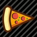 bread, fast, food, italian, pizza