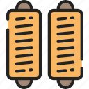 eating, fast food, pastrie, rolls, sausage, take away icon