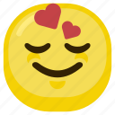 emoticon, happiness, happy, love, lover, smile icon
