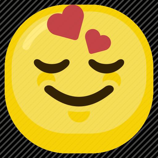 emoticon, happiness, happy, love, lover, smile icon