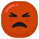 angry, cry, emoticon, mad, sad icon