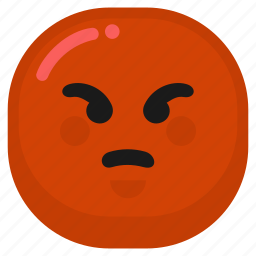 angry, emoticon, mad, upset icon