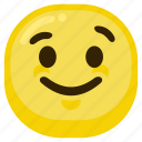 emoticon, fun, happiness, happy, kind, smile icon