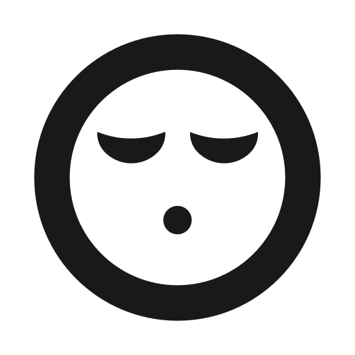 emoji, emojis, emoticon, exhausted, sleeping, tired, whistle icon