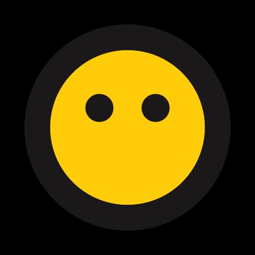 blank, emoji, sealed lips, straight faced icon