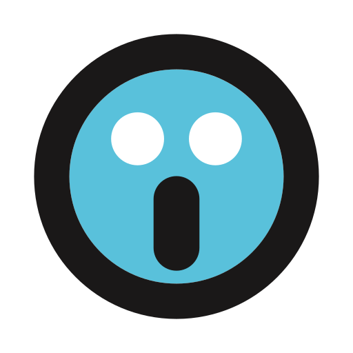 emoji, frightened, ghost, horror, scarred icon