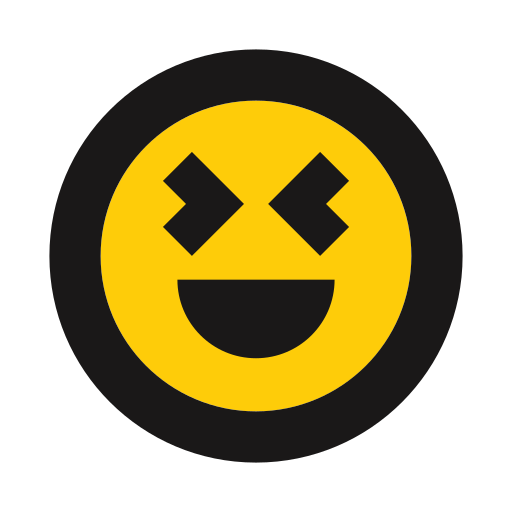 emoji, giddy, happy, joy, playful icon