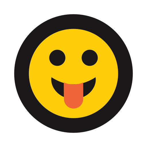 emoji, emoticon, playful, silly, tongue out icon