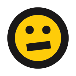 emoji, emoticon, hesitant, nervous, skeptical icon