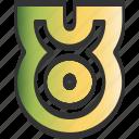 birth cart, horoscope, tarot, taurus icon