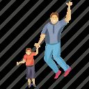 dad son, fatherhood, happy dad, happy son, supportive dad icon