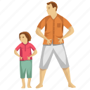 child care, child support, exercise, kids fitness, physical fitness icon