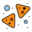 chips, food, nachos, snack icon