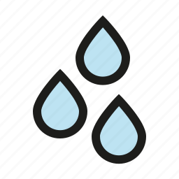 chemistry, drops, liquid, science icon