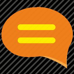 comment, dialog, letter, message icon