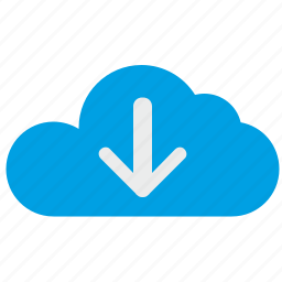 cloud, connection, download, process, technology, traffic icon