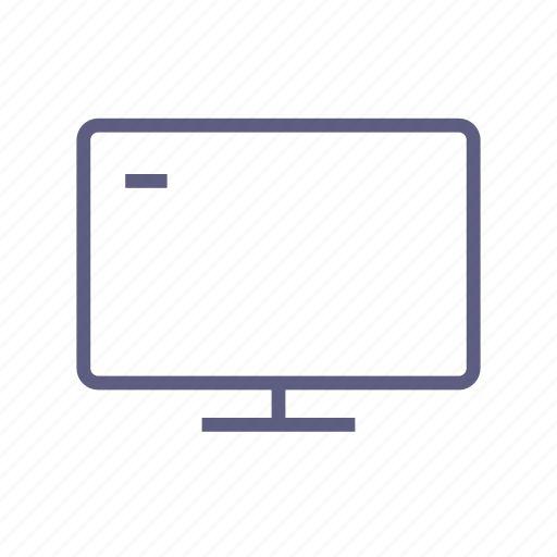 display, monitor, review, showing, tv, video, watch icon
