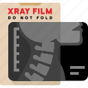 bones, cervical, medical, spine, xray icon