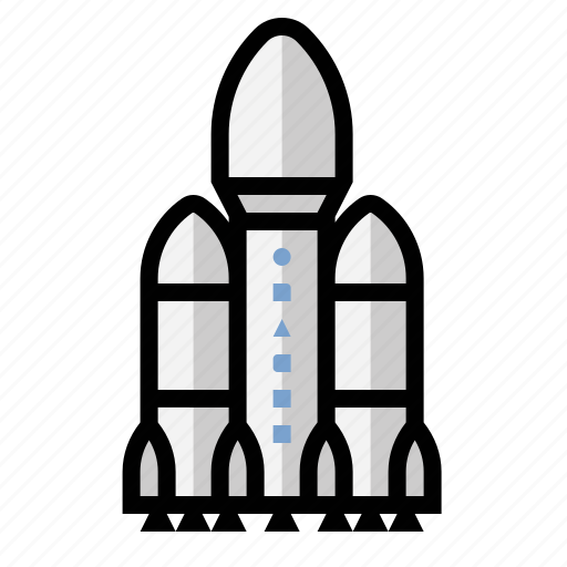 falcon heavy, launch, rocket, space-x icon