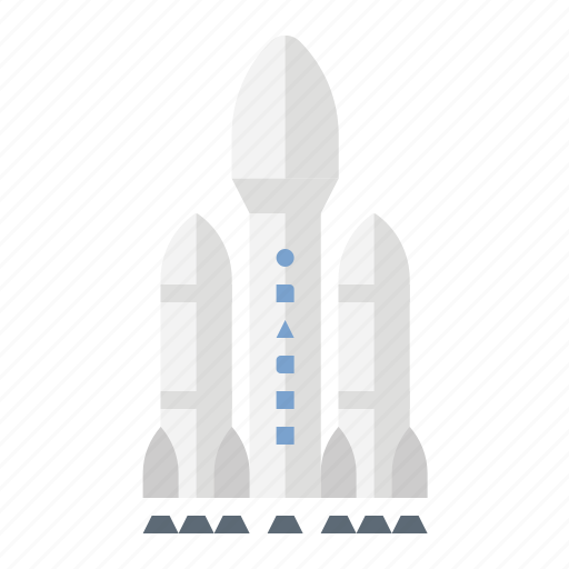 falcon heavy, launch, rocket, space-x icon