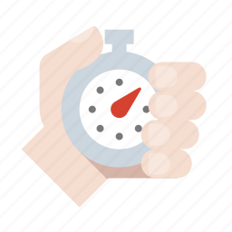 hand, race, stopwatch, timer icon
