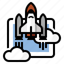 launch, nasa, rocket, shuttle, space