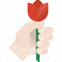 flower, love, tulip icon