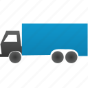 automobile wagon, autotruck, cargo, delivery, lorry, shipment, traffic, transport, transportation, travel, truck, vehicle icon