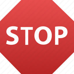 control, direction, halt, restrictive, road, sign, stop, stoppage, stopping, traffic icon