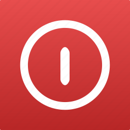 disconnect, logout, off, on, power, shut, shutdown, sign, switch, turn icon