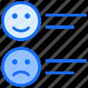 satisfaction, rating, emotions, satisfy, feedback