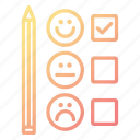 customer, feedback, satisfaction, support, survey icon