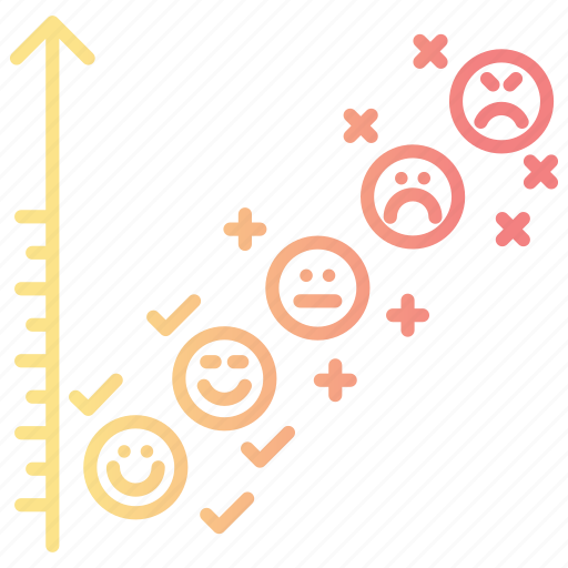 chart, feedback, rating, review icon