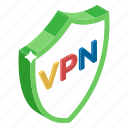 data encryption, network shield, security shield, virtual private network, vpn encryption icon
