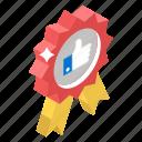 award badge, badge, recommended, ribbon badge, winner badge