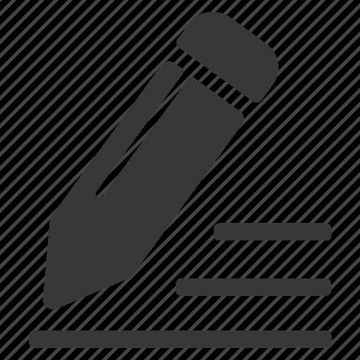 Edit, pen, pencil icon - Download on Iconfinder
